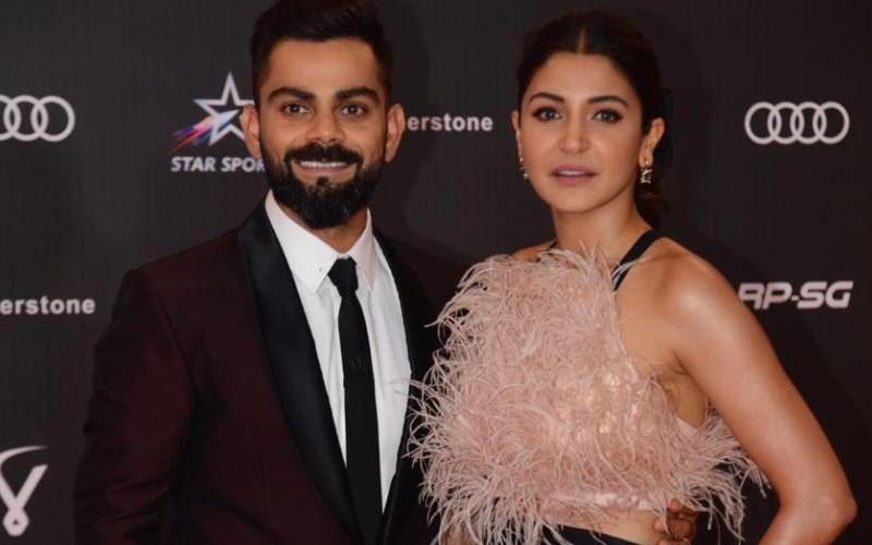Power couple Virat Kohli And  Anushka Sharma Put Up A Glamorous Show At The Indian Sports Honours Event