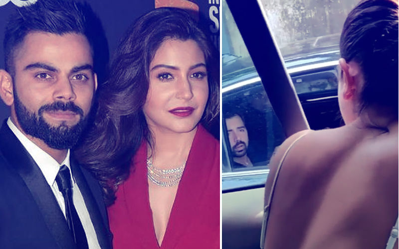 Anushka Gives A Rap On A Man's Knuckles For Throwing Garbage On Road; Virat Shares The Video