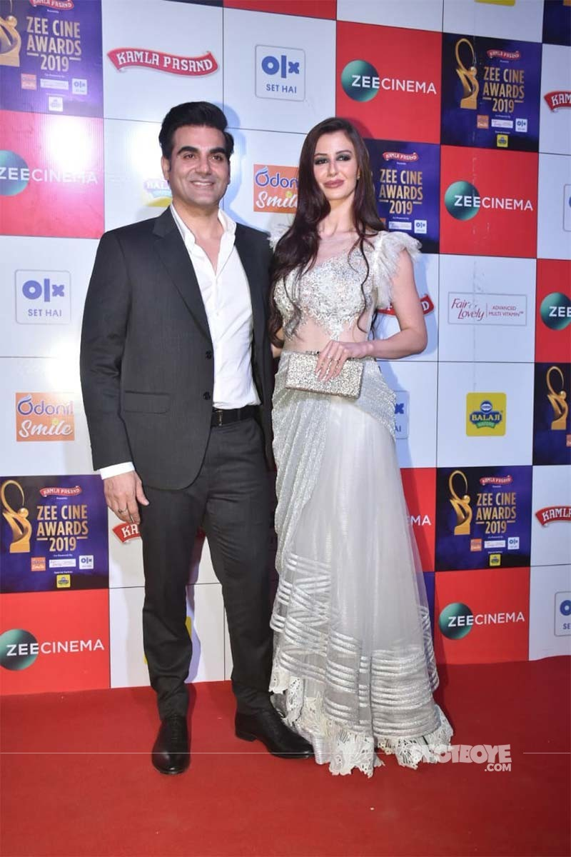 Arbaaz Khan With Georgia Andriani