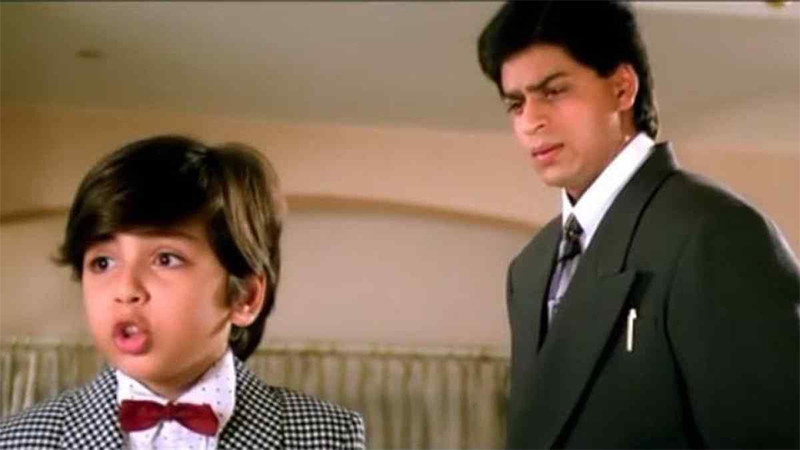 Arhhan Singh With Shah Rukh Khan