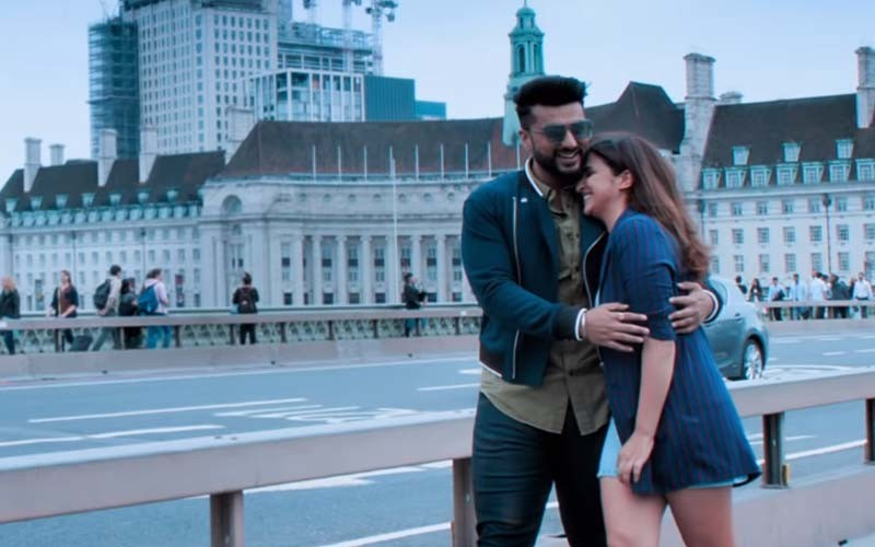 Arjun And Parineeti From Namaste England