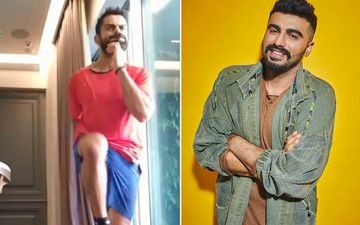 Arjun Kapoor Trolls Virat Kohli As He Aces The Very Tough Exercise '180 Landings', Says, 'Bhangra Paa Le'