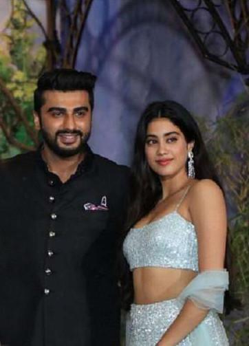 Arjun Kapoor With Janhavi Kapoor