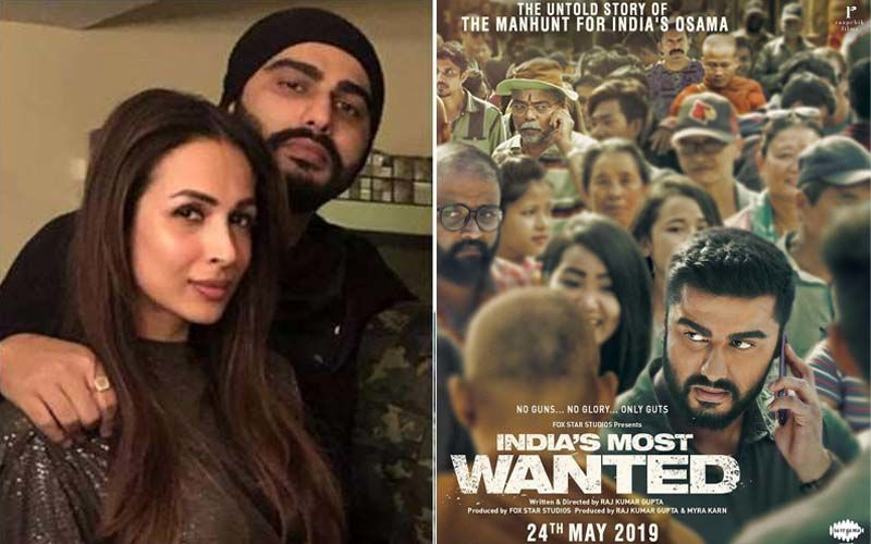 Malaika Arora Overjoyed About Arjun Kapoor's India's Most Wanted; Shares The Poster On Social Media
