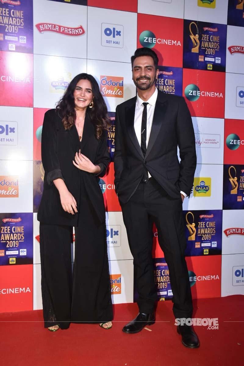 Arjun Rampal With Gabriella Demetriades