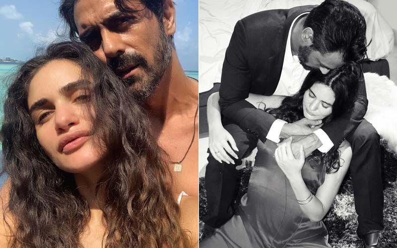 Arjun Rampal And Girlfriend Gabriella Demetriades Enjoy A Rocking Babymoon In Maldives- VIEW PICS