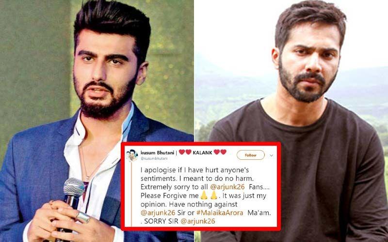 Troll Who Slammed Arjun Kapoor For Hating Sridevi, Apologises; Varun Dhawan Gives Advice Too