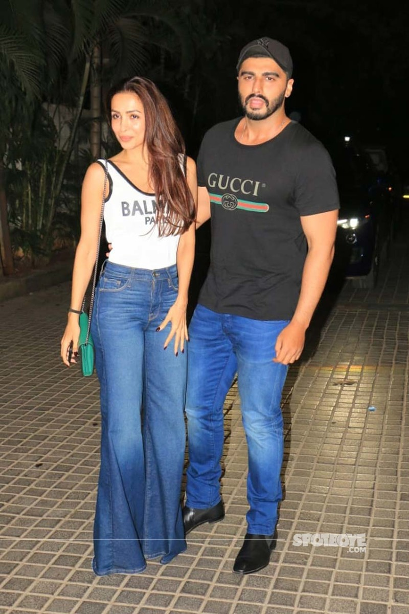 Arjun With Malaika