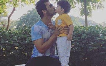 'Karan Johar Called Ayaan Extraordinary', TV Star Arjun  Bijlani On His 2-Years Old Son