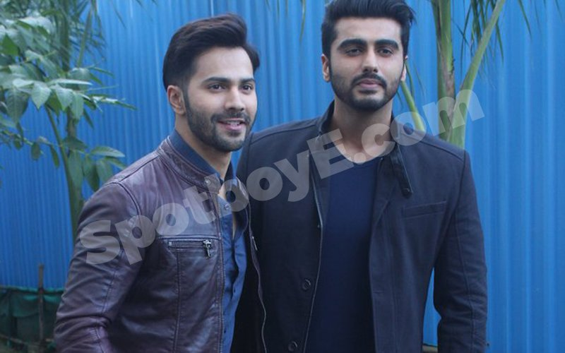 Varun Dhawan And Arjun Kapoor Shoot For Yaaron Ki Baraat
