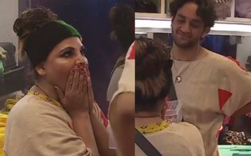 Bigg Boss 14: Vikas Gupta Does A Kind Gesture Towards Rakhi Sawant; Gifts Her A Box Filled With Jewelry Leaving Her In Tears - WATCH