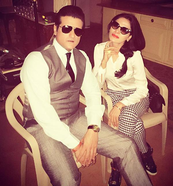 Armaan Kohli And Neeru Radhawa In Happier Times