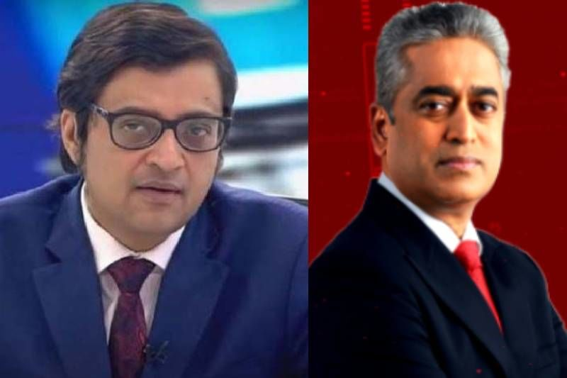 After Bollywood Producers File A Lawsuit Against News Channels, Journalists Arnab Goswami And Rajdeep Sardesai's Throwback 'Soft-Spoken' Video Goes Viral
