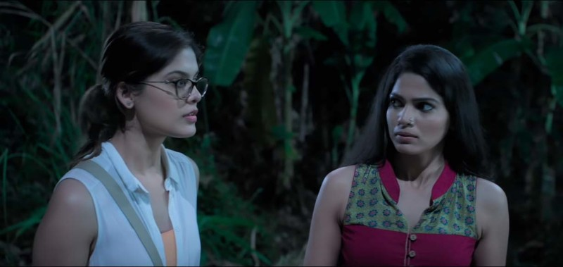 Asha Bhat With Pooja Sawant In Junglee