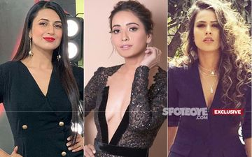 Asha Negi's Dangerously Low Neckline Ignites A Quarrel Between Nia Sharma, Divyanka Tripathi And Her Fans