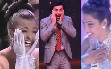 Ranbir Kapoor Imitates Aishwarya Rai Bachchan And Yukta Mukhi's Miss World Winning Moments And We Can't Stop Laughing - VIDEO
