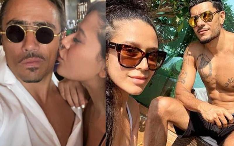 Tiger Shroff's Sister Krishna Shroff Poses Alongside Her 'Bae' And Kisses Him; Ex-Bf Eban Hyams Says 'You Move Quick'