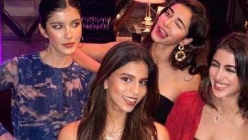 Ananya Panday Recreates A Picture From Childhood With Besties Suhana Khan, Navya Naveli Nanda And Shanaya Kapoor; It's #BFFGOALS