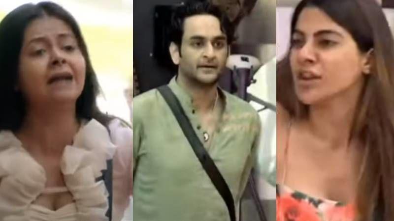 Bigg Boss 14: Nikki Tamboli Accuses Vikas Gupta Of Doing 'Chuma Chatti' With Girls; Devoleena Bhattacharjee Accuses Nikki Of Playing 'Women Card'