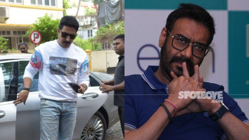 Abhishek Bachchan Got An Earful From Ajay Devgn Post Testing Positive For Coronavirus; Video Will Leave You In Splits - WATCH