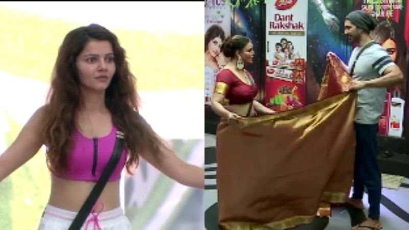 Bigg Boss 14 PROMO: Not Rubina Dilaik, Rakhi Sawant Gets Abhinav Shukla To Drape Her Saree; #SPEECHLESS