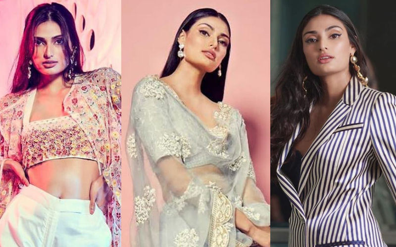 From Sexy Pantsuits To Perfect Sangeet Lehenga, Athiya Shetty's Dolled Up Looks Are Fashion Goals
