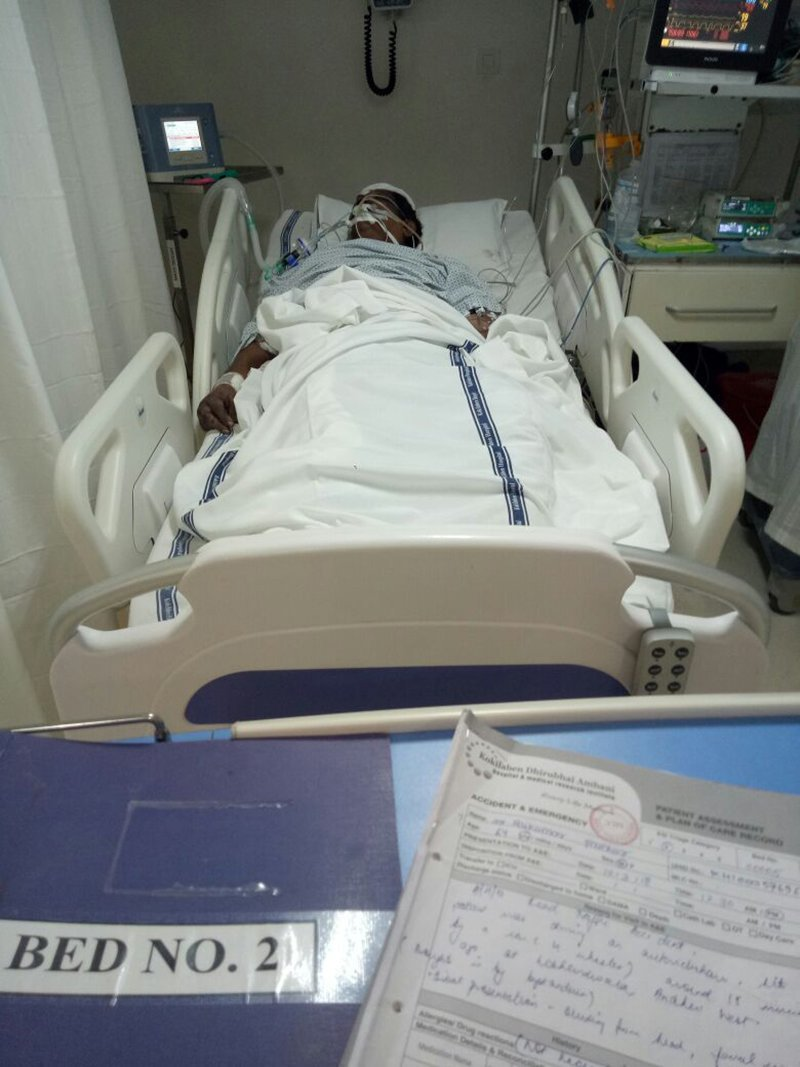 Auto Driver In Hospital