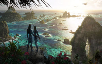 Avatar 2 First Look: New Pics Take Us Into The Magnificient And Jaw-Dropping World Of James Cameron