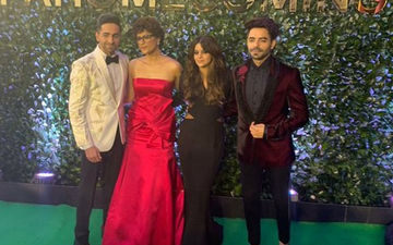 Ayushmann Khurrana And Aparshakti Khurana At IIFA Awards 2019: The Hosts Of The Event Arrive With Their Wives