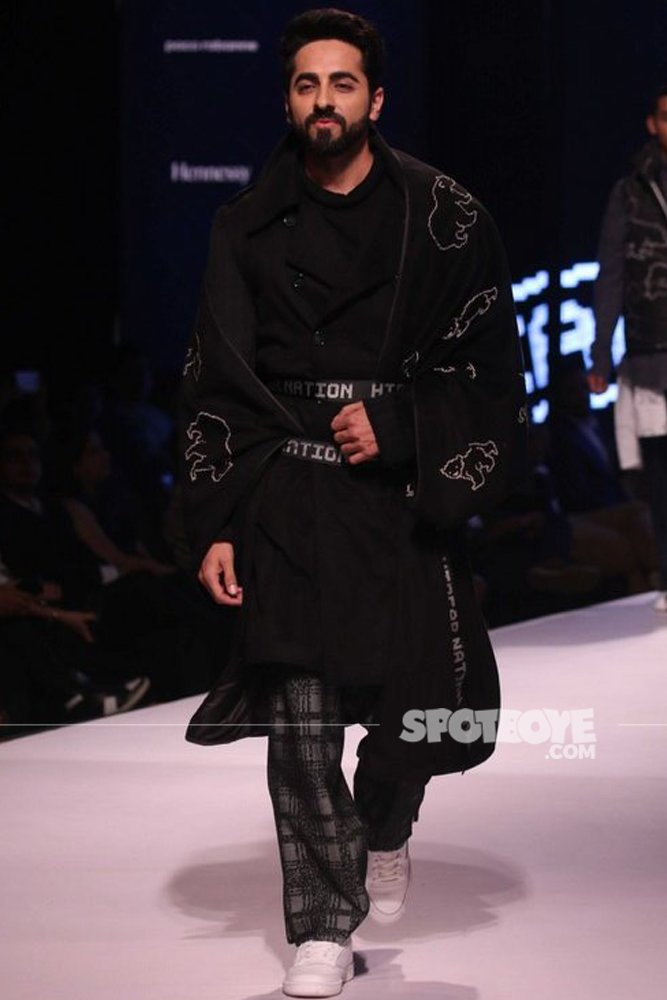 Ayushmann Khurrana Walks The Ramp At GQ Fashion Nights