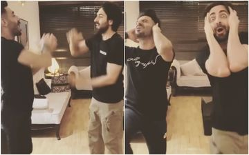 Ayushmann Khurrana- Aparshakti Khurana Give A HILARIOUS Twist To The Childhood Game 'Aao Milo Shilo Shaalo' – Watch