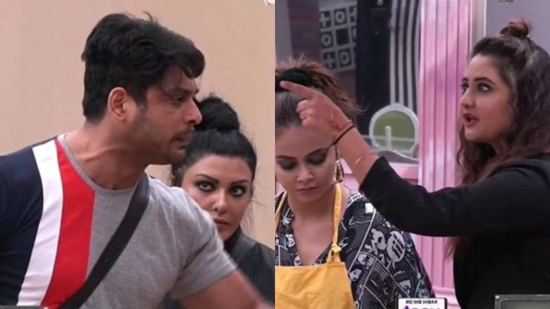 Bigg Boss 13 Day 9 SPOILER Alert:  All Hell Breaks Loose As Sidharth Shukla And Rashami Desai Get Into An Ugly Fight Over Kitchen Responsibilities