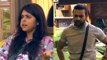 Bigg Boss 13: Forget The Kiss, Madhurima Tuli Yells 'Chipke Raho Dusri Ladkiyon Se Tum' At Vishal Aditya Singh