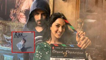 Bhool Bhulaiyaa 2: Kartik Aaryan-Kiara Advani's Love-Soaked Shoot LEAKED; Watch Actor Lifting Kiara In His Arms
