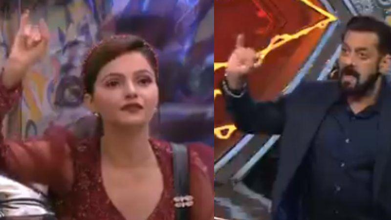 Bigg Boss 14 WEEKEND KA VAAR: Salman Khan Furiously Slams Rubina Dilaik For Her Actions; Gets Sarcastic With Abhinav Shukla