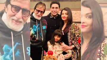Aishwarya Rai Bachchan And Aaradhya Bachchan Make Music With Abhishek And Amitabh Bachchan On The Last Day Of The Year 2020 - PIC Inside