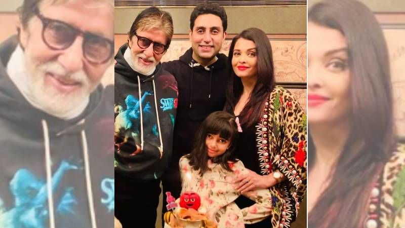 Aishwarya Rai Bachchan And Aaradhya Bachchan Make Music With Abhishek And Amitabh Bachchan On The Last Day Of The Year 2020 - PIC Inside