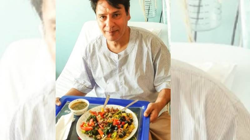 Rahul Roy Recovers From Brain Stroke; Shares A Picture From The Hospital Relishing Yogic Lunch And Says 'See You All Super Soon'