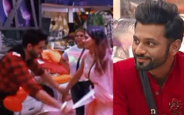 Bigg Boss 14: Aly Goni Goes On His Knees To Cheer Up An Upset Nikki Tamboli; Rahul Vaidya Teases 'Aashiqui Chal Rahi Hai In Dono Ki'