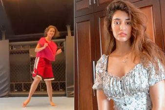 Disha Patani Pulls Off A Butterfly Kick With Ease; Can She Be Anymore Impressive? WATCH HERE
