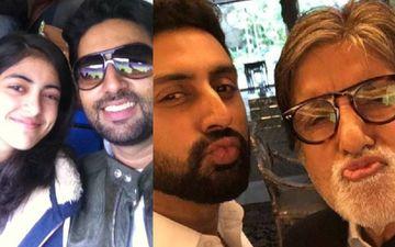 Happy Birthday Abhishek Bachchan: Father Amitabh Bachchan Pens A Sweet Note; Niece Navya Naveli Nanda Calls Him 'Best Friend'
