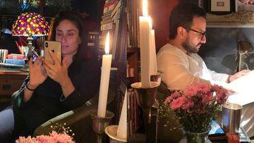 Coronavirus Lockdown: Kareena Kapoor Khan Shares Date Night With Saif; Taimur's Portrait In The Background Is Unmissable