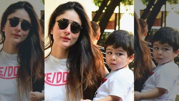 Taimur Ali Khan FINALLY Makes His Debut On Mom Kareena Kapoor's Insta; Steals Actress' Frame And How – PIC
