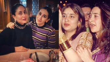 Kareena Kapoor Khan-Karisma Kapoor Look UNRECOGNISABLE In This Throwback Pic; Fans Ask, 'Yeh Dono Koun Hai?'