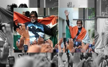 Case Against Big B And Abhishek For Insulting Indian Flag