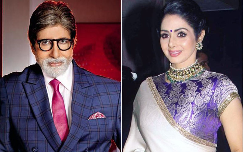 Sridevi's 1st Death Anniversary: When Amitabh Bachchan Had An Eerie Feeling Right Before Sridevi's Demise