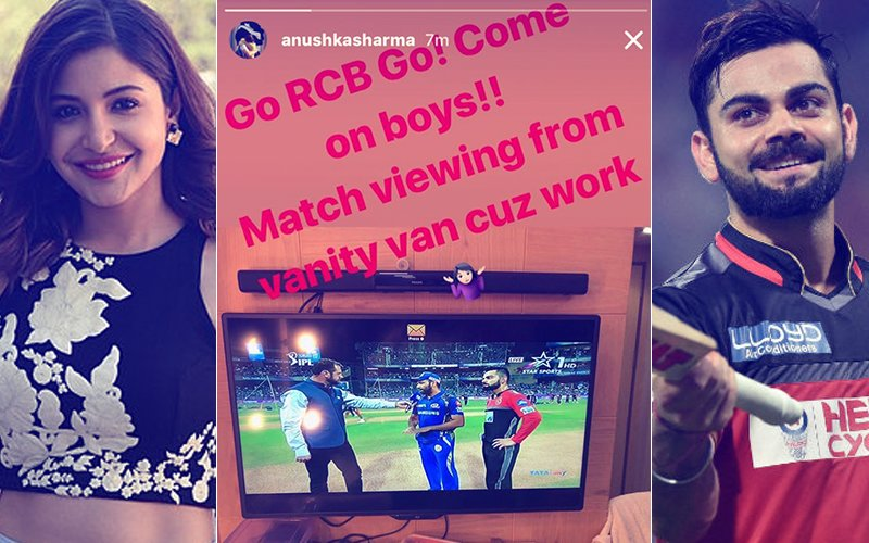 Anushka Sharma Bats For Virat Kohli; Cheers On Hubby Dearest From The Sets Of Zero