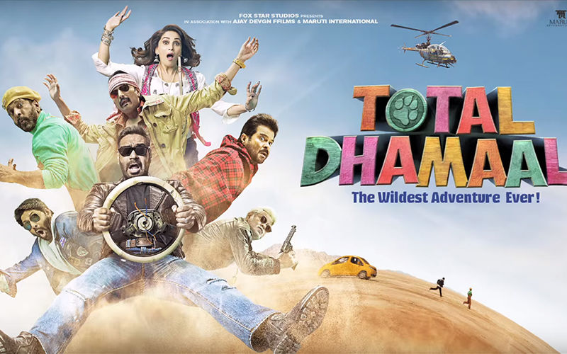 It's Total Dhamaal Indeed For This Ajay Devgn-Madhuri Dixit-Anil Kapoor Starrer At Box Office On Day 2