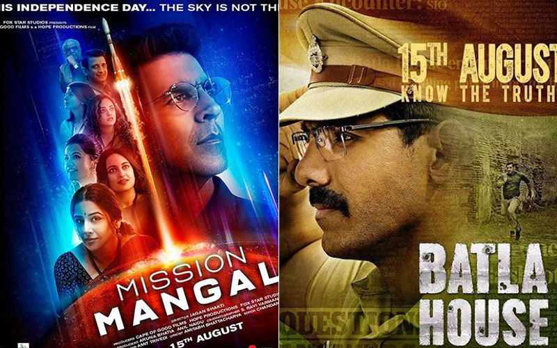 Mission Mangal And Batla House Box-Office Collections Day 3: Akshay Kumar's Film Shows An Upward Swing, As John Abraham Starrer Also Picks Pace