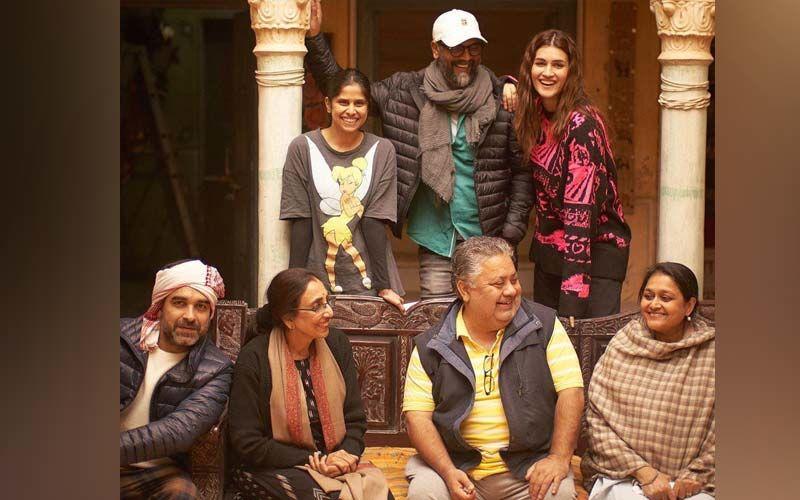 Mimi: Sai Tamhankar Shares A Behind The Shoot Picture With Kriti Sanon, Pankaj Tripathi And Supriya Pathak